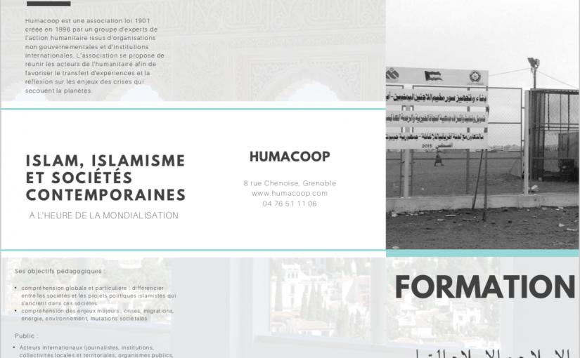 """Formation """"Monde Arabe"""" : Islam, Islamisme, et sociétés contemporaines"""