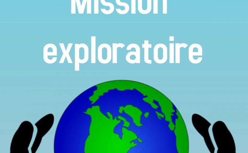 Formation Mission Exploratoire