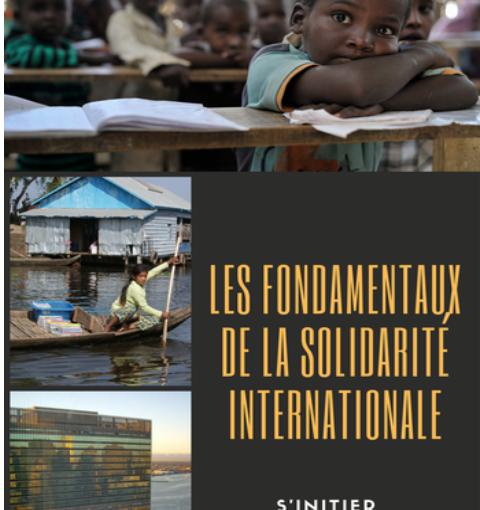 """Publication : """"Les fondamentaux de la Solidarité Internationale"""""""